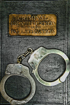 Crime Scene Investigation Print by Paul Ward