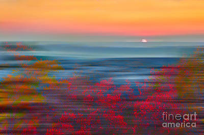 Crimson Dawn - A Tranquil Moments Landscape Print by Dan Carmichael