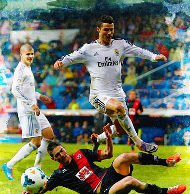 Cristiano Ronaldo Original by Don Kuing
