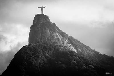 Rio Photograph - Cristo Redentor by Bob Rapfogel