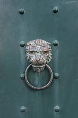 Dubrovnik Photograph - Croatia, Dubrovnik, Guest House Door by Rob Tilley
