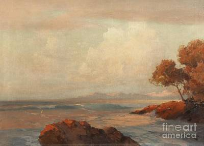 Slavic Painting - Croatian Sea by Celestial Images