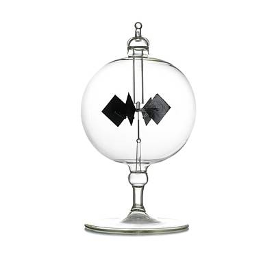 Crookes Radiometer Print by Science Photo Library