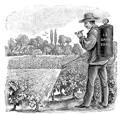 Crop Sprayer Print by Science Photo Library