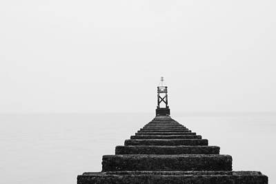 Liverpool Photograph - Crosby Beach Black And White by Phillip Orr