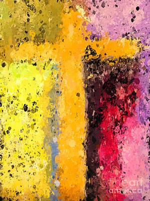 Cross Digital Art Digital Art - Cross Abstract Iv  by Heidi Smith