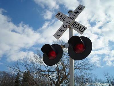 Photograph - Cross The Railroad by Jenna Mengersen
