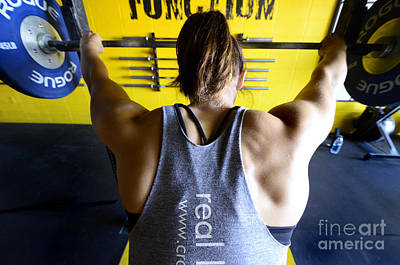 Canadian Sports Photograph - Crossfit 3 by Bob Christopher