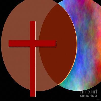 Messiah Digital Art - Crossing Paths by Glenn McCarthy Art and Photography