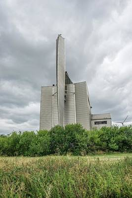 Waste Photograph - Crossness Sewage Sludge Incinerator by Robert Brook