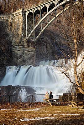 Croton Falls View Print by Emmanouil Klimis