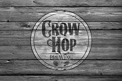 Handcrafted Photograph - Crow Hop Brewing by Joe Hamilton