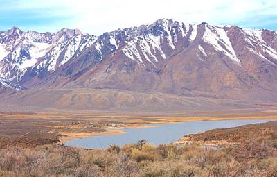 Crowley Lake Photograph - Crowley Lake After Four Years  by Marilyn Diaz