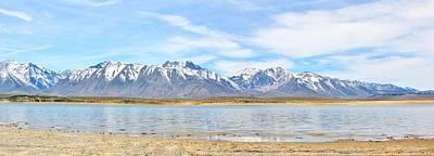 Crowley Lake Photograph - Crowley Lake Panorama by Marilyn Diaz