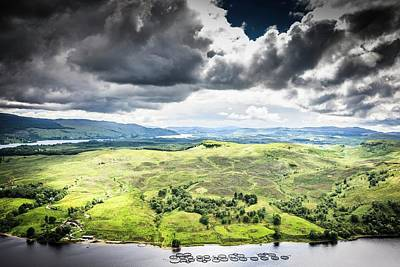 Cruachan Power Station Print by Gustoimages