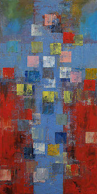 Crucifix Painting - Crucifixion by Michael Creese
