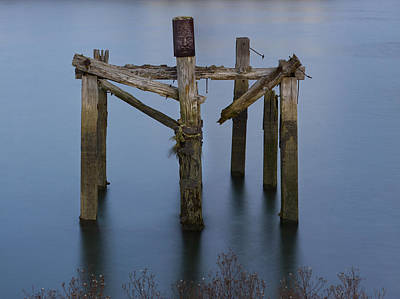 Inri Photograph - Crucifixion Of Wood And Water 2 by Fernando Alvarez