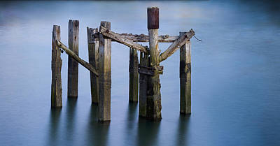 Inri Photograph - Crucifixion Of Wood And Water by Fernando Alvarez