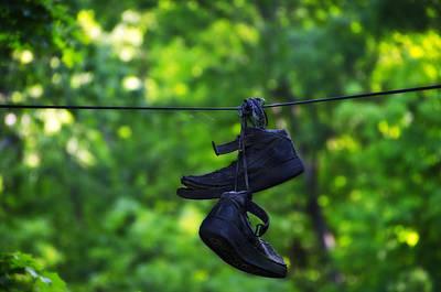 Sneakers Digital Art - Cruel Shoes by Bill Cannon