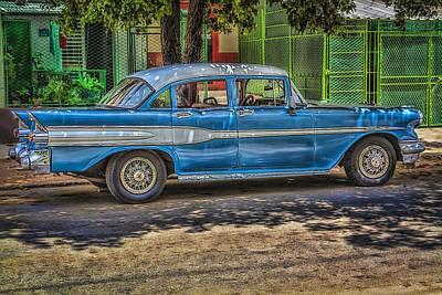 Cruisin Havana Print by Erik Brede