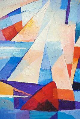 Mood Painting - Cruising by Lutz Baar