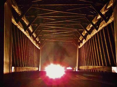Solebury Photograph - Cry Baby Bridge by Greg Kear