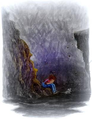 Loser Painting - Crying ... by Matt Konar