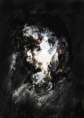 Nice Teeth Digital Art - Crying by Nguyen Duc Minh