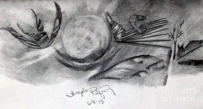 Crystal Ball Print by Angela Pelfrey