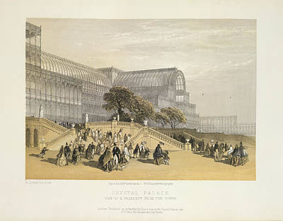 Hyde Park Photograph - Crystal Palace by British Library