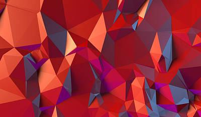 Crystal Volcanic Print by Vitaliy Gladkiy