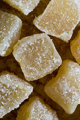 Health Food Photograph - Crystallized Ginger by Frank Tschakert