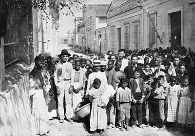 Cuba Food Relief, C1898 Print by Granger