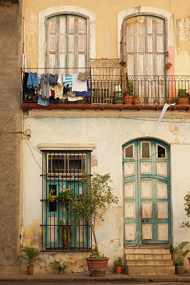 Republic Building Photograph - Cuba, Havana, Havana Vieja, Old Havana by Walter Bibikow