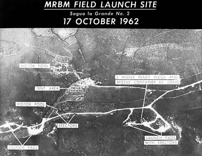 Gathering Photograph - Cuban Missile Crisis Launch Site by Us Air Force