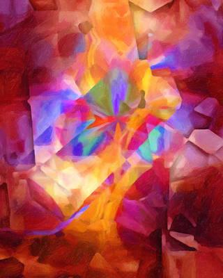 Fiesta Painting - Cubicscape Artisan by Lutz Baar