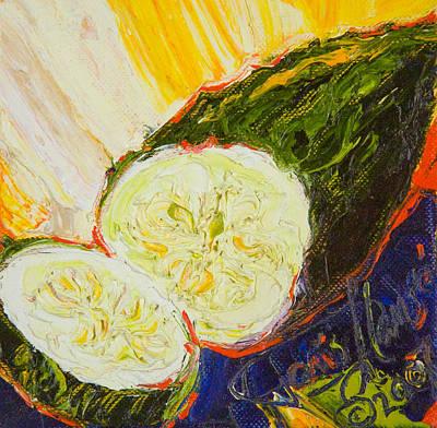 Cucumber II Print by Paris Wyatt Llanso