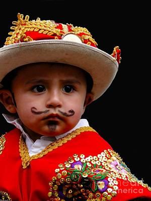 Cuenca Kids 387 Print by Al Bourassa