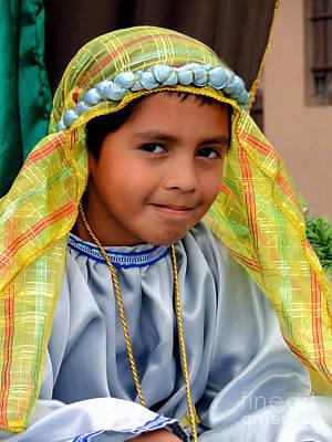 Shepherd Boy Photograph - Cuenca Kids 471 by Al Bourassa