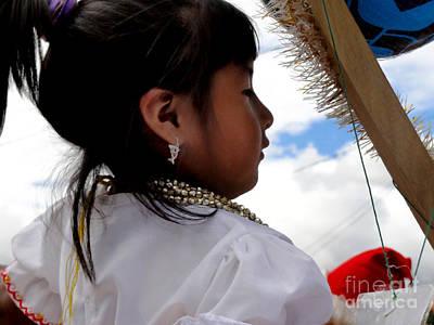 Earrings Photograph - Cuenca Kids 544 by Al Bourassa