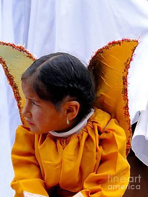 Earrings Photograph - Cuenca Kids 593 Painting by Al Bourassa