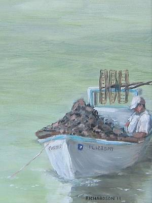 Culling The Catch Print by Susan Richardson