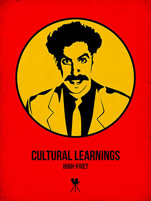 Cultural Learnings Poster 2 Print by Naxart Studio