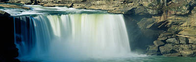 Cumberland River Photograph - Cumberland Falls, Cumberland River by Panoramic Images