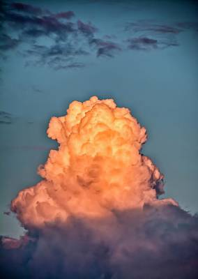 Cumulus Photograph - Cumulus Mediocris Clouds by Photostock-israel