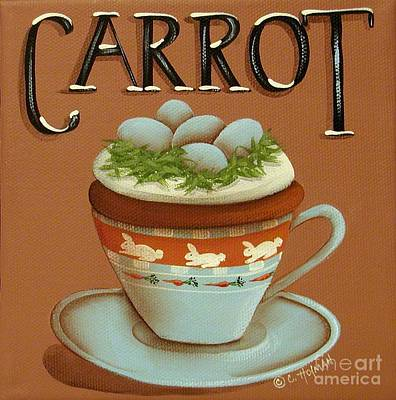 Cup Of Carrot Cake Original by Catherine Holman