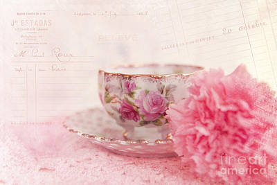 Cup Of Tea Print by Kay Pickens