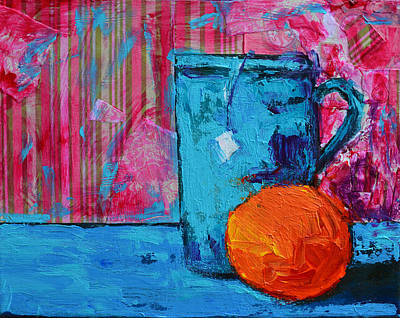 Pottery Painting - Cup Of Tea No. 2 by Patricia Awapara