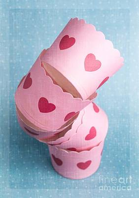 Cup Cakes Photograph - Cupcake Love by Edward Fielding