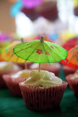Birthday Photograph - Cupcakes by Douglas Peebles